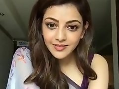 Kajal Aggarwal Equally Armpits with the addition of Boobs connected with Sleeveless Saree