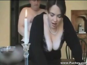 Busty Big Daddy Join in matrimony Fucks For Game