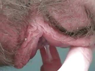 klaffende pussy close up riesigen schwanz