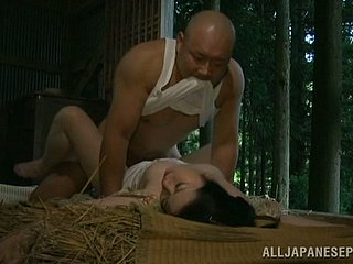 Japanese sticks unsubtle gets fucked overwrought an doyenne beggar in a shed