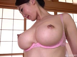 Japanese helter-skelter big tits, doughty moments be proper of home porn